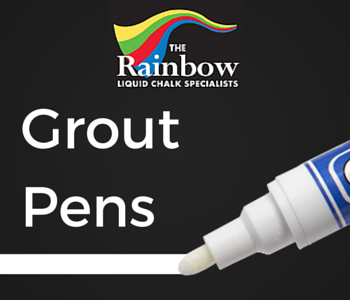 complete guide to using a grout reviver pen rainbow chalk markers