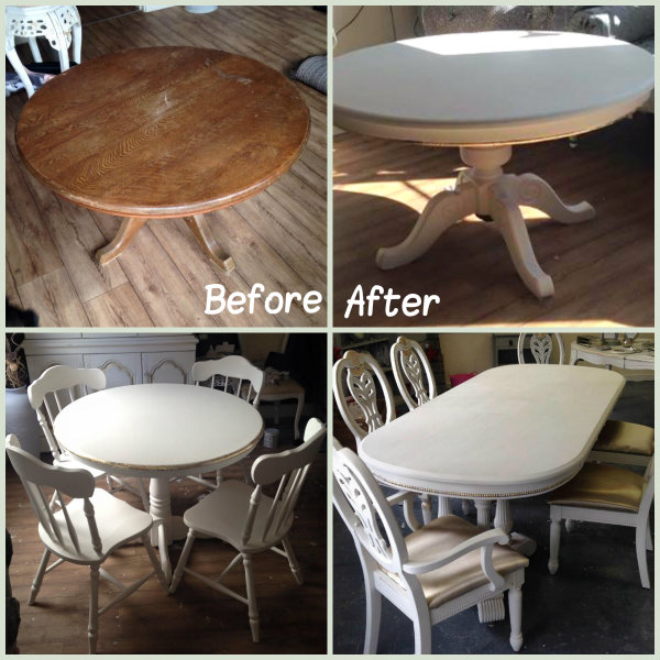 A Shabby Chic Dining Table Is A Wonderful Addition To A Dining Room. It  Turns An Old, Unloved Piece Of Furniture Into A Desirable, Fashionable And  Useful ...