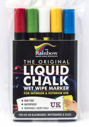 liquid chalk assorted 5 pack