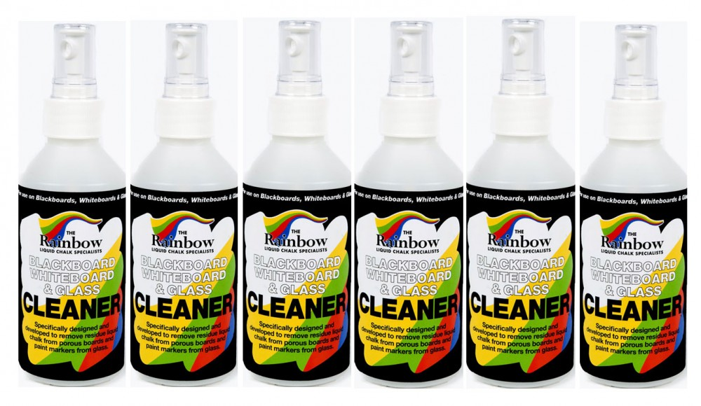 write on glass cleaner 250ml cleaner case of 6
