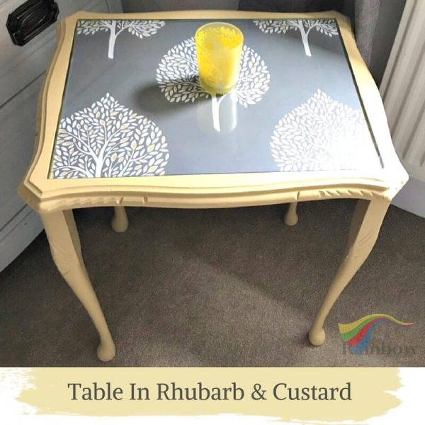 Table Rhubarb & Custard Shabby Chic Furniture Paint