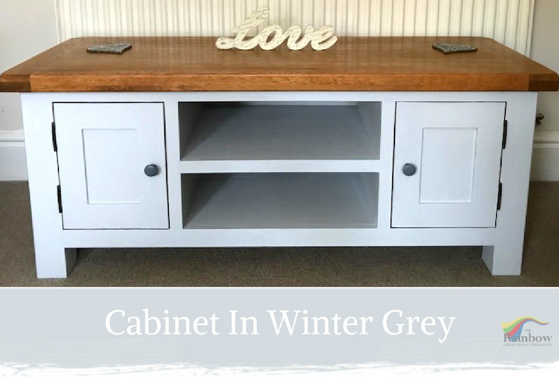 Winter Grey Shabby Chic Furniture Paint