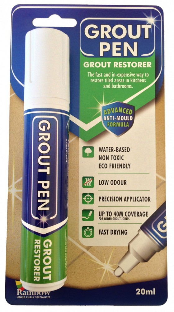 white grout pen broad