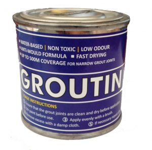 Groutin Paint 125ml groutin paint grout restorer