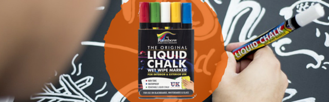 Rainbow Chalk Liquid Chalk Markers