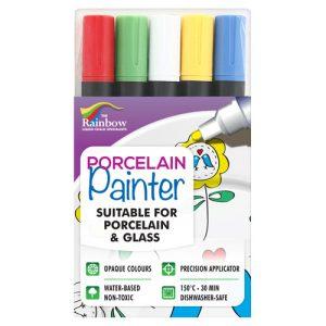 porcelain painter pens 5 pack assorted