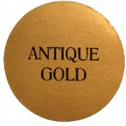 antique gold chalk based furniture paint