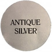 antique silver chalk based furniture paint