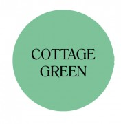 cottage green chalk based furniture paint