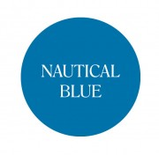 nautical blue chalk based furniture paint