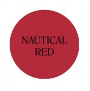 nautical red chalk based furniture paint
