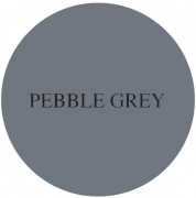 pebble grey chalk based furniture paint