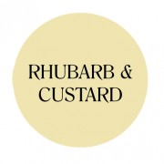 rhubarb & custard chalk based furniture paint