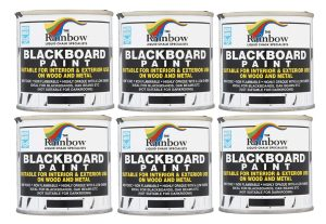 250ml blackboard paint case of 6