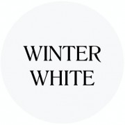 winter white chalk based furniture paint