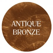 antique bronze chalk based furniture paint
