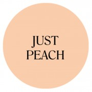 just peach chalk based furniture paint