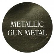 metallic gun metal chalk based furniture paint