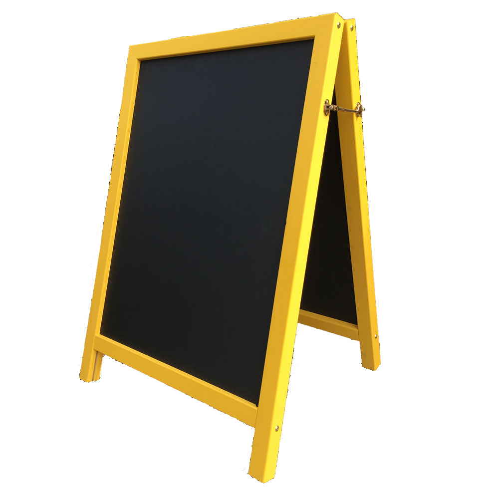 A Frame Chalkboard Suitable For Writing On With Liquid Chalk