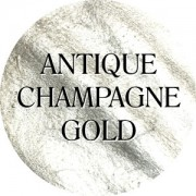 antique champagne gold chalk based furniture paint