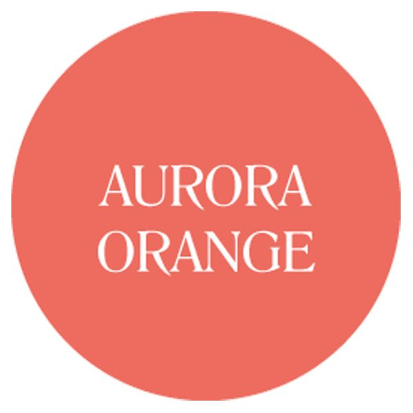 aurora orange chalk based garden furniture paint