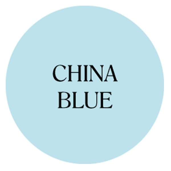 china blue chalk based garden furniture paint