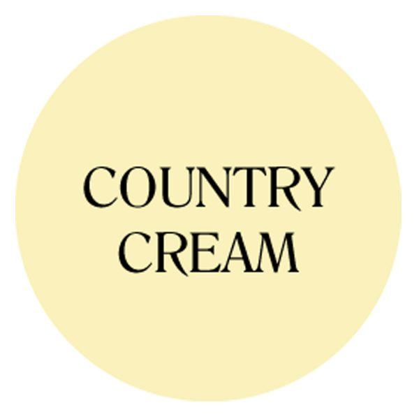 country cream chalk based garden furniture paint