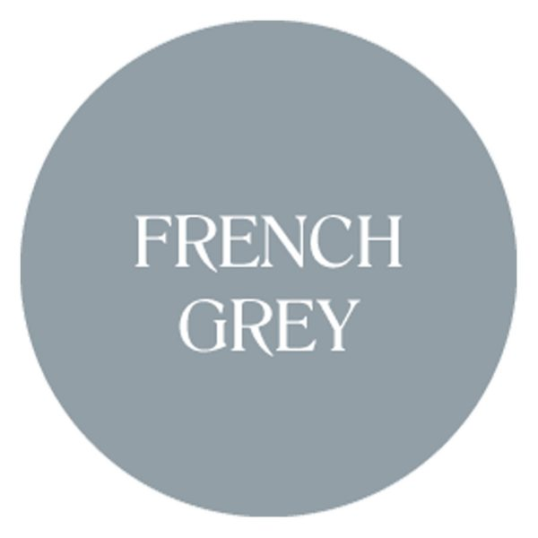 french grey chalk based garden furniture paint
