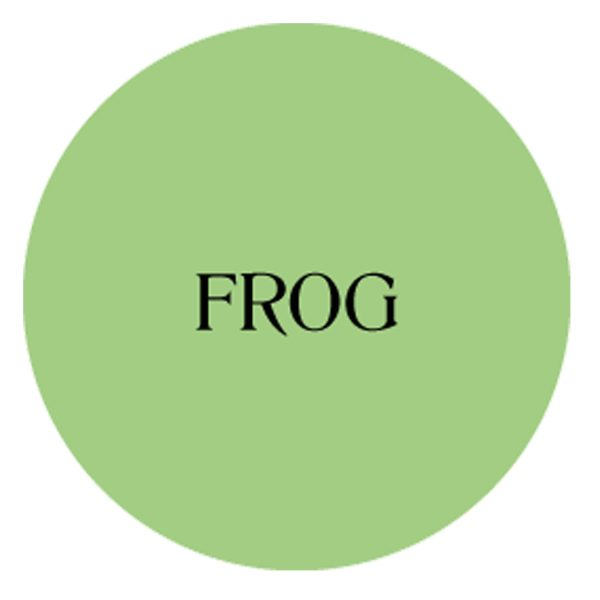 frog chalk based garden furniture paint