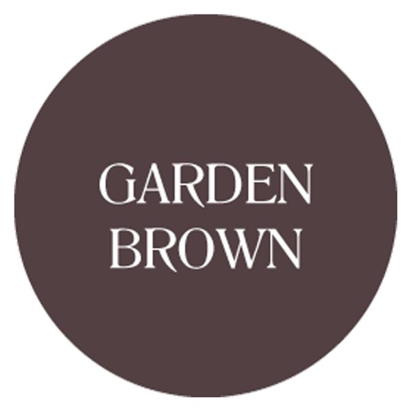 garden brown chalk based garden furniture paint