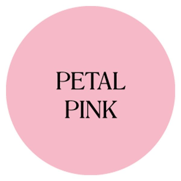 petal pink chalk based garden furniture paint