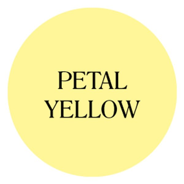 petal yellow chalk based garden furniture paint