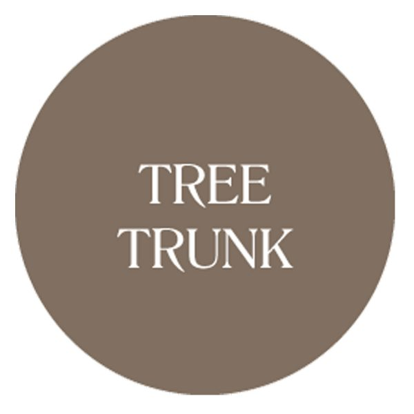tree trunk chalk based garden furniture paint