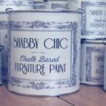 shabby chic furniture paint colours