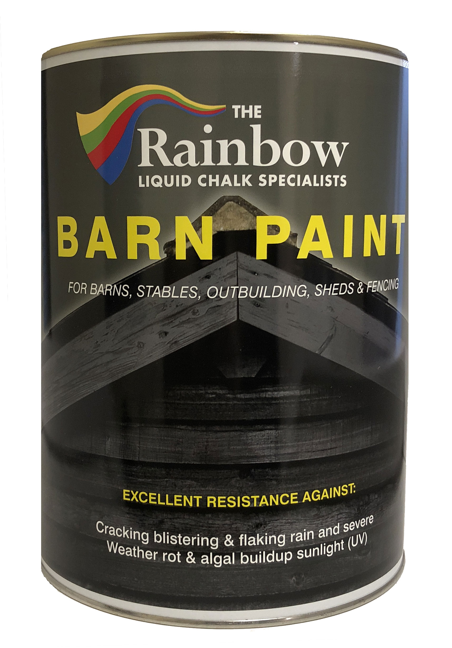 Barn Paint Restoration Water Mold Resistant 5l