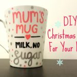 personalised Christmas gift for mum