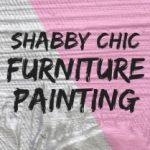 shabby chic furniture painting
