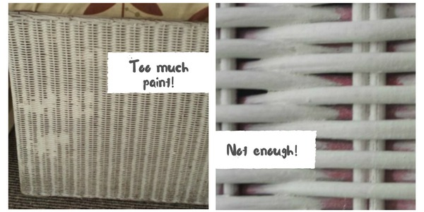 How To Paint Wicker Furniture Shabby Chic Style Diy Tips