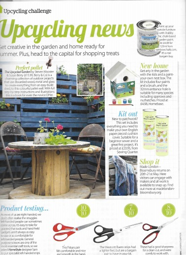 Garden Paint In HomeStyle Magazine