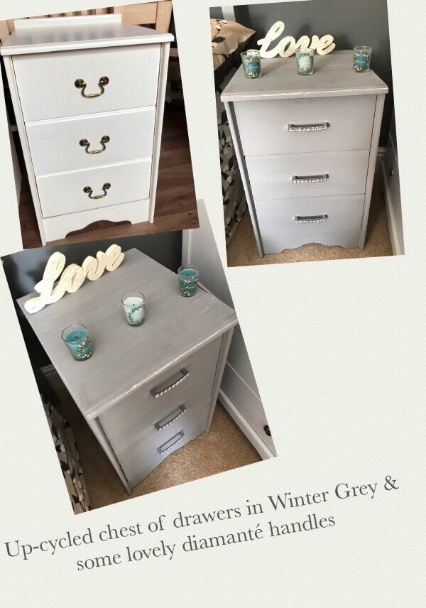Wondrous Make Your Own Shabby Chic Chest Of Drawers With Chalk Paint Beutiful Home Inspiration Truamahrainfo