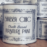 Rainbow Chalk Furniture Paint Cans