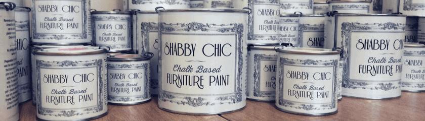 Rainbow Chalk Furniture Paint Cans