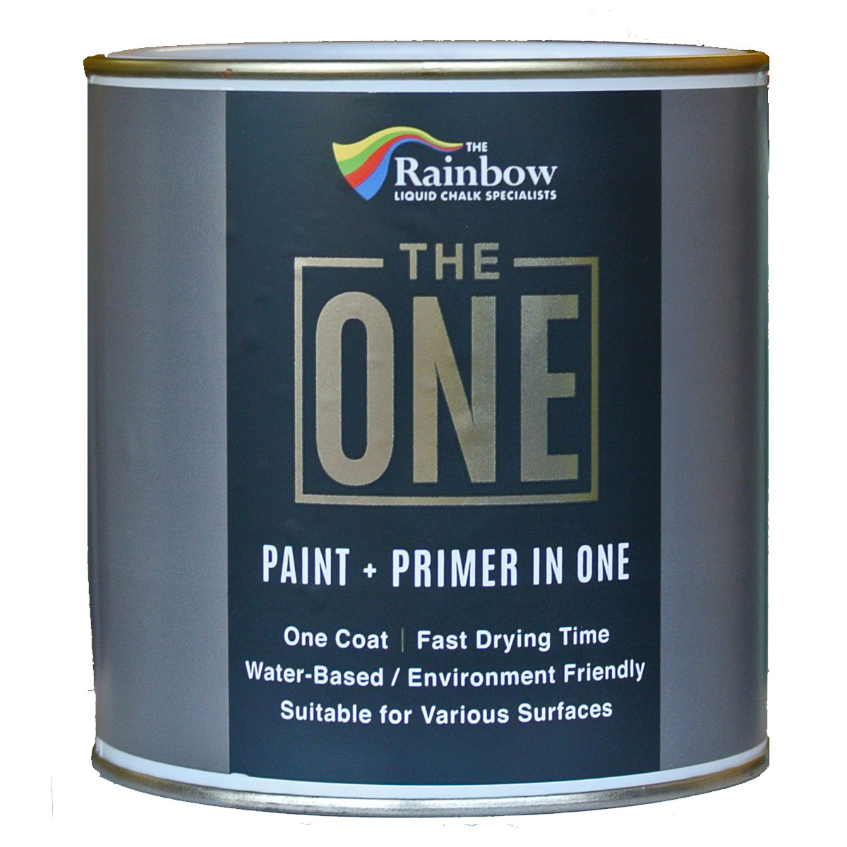 The One Satin 250ml Luxurious One Coat Paint Amp Primer