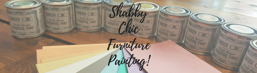 shabby chic glass-top coffee table